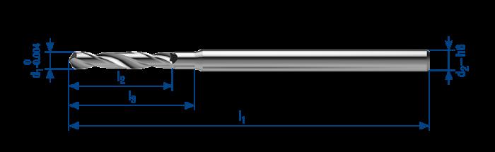 Micro drill Spirec