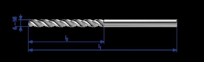 Drill reamer Tricut